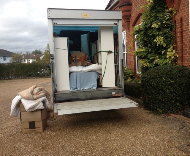 Loaded Van with House Clearance