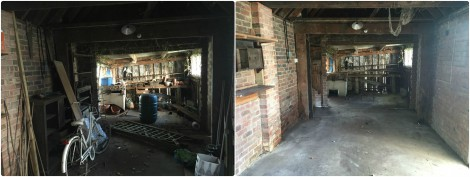 Garage Before and After Clearance Photo